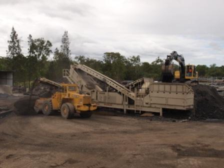 Recycling Operations for Fulton Hogan at Crestmead